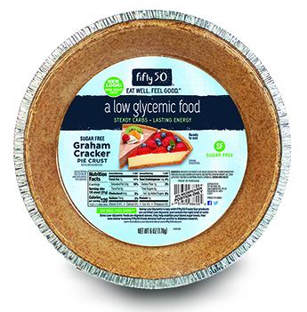 Fifty 50 Foods Sugar Free Graham Cracker Pie Crust Low