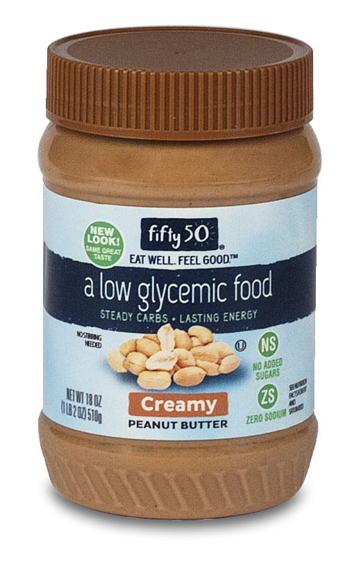 No Sugar Added Creamy Peanut Butter